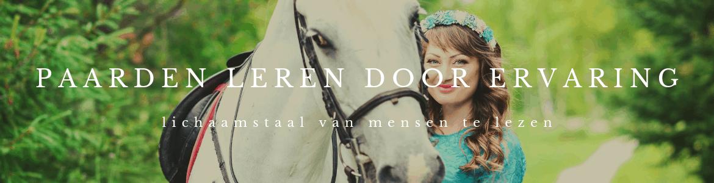 Paarden leren door ervaring lichaamstaal van mensen te lezen